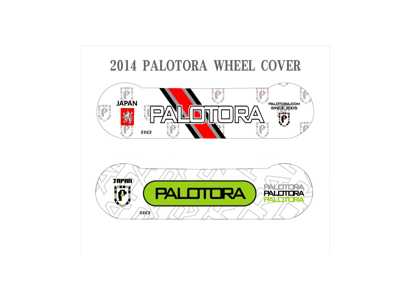 PALOTORA WHEEL COVER  110mm  @2500